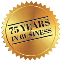Over 75 Years in Business